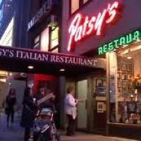 "FRANK SINATRA'S FAVORITE RESTAURANT  ""PATSY'S 56th STREET NEW YORK"""