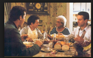 HENRY, TOMMY, and JIMMY GET LATE NIGHT EATS FROM TOMMY'S MOM .. MANGIA BENE!