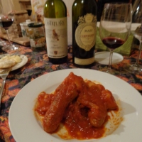 GREENWICH VILLAGE NEWPORT STEAKS BAROLO BRUNELLO DINNER