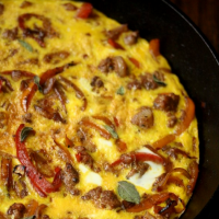 How to Make Sausage Frittata