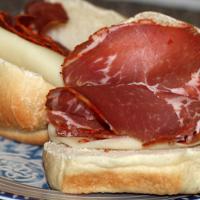 Tony Sopranos Gabagool Sandwich